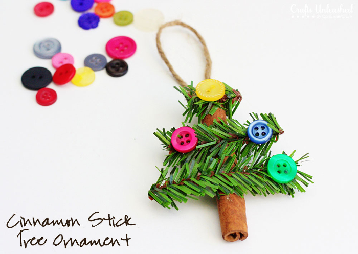Cinnamon stick Christmas tree Ornament