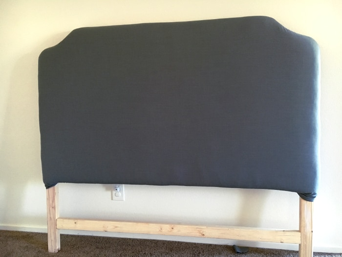 Easy Diy Upholstered Headboard With Nailhead Trim Anika S