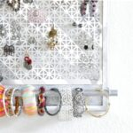 DIY Jewelry Organizer – it doubles as wall decor!