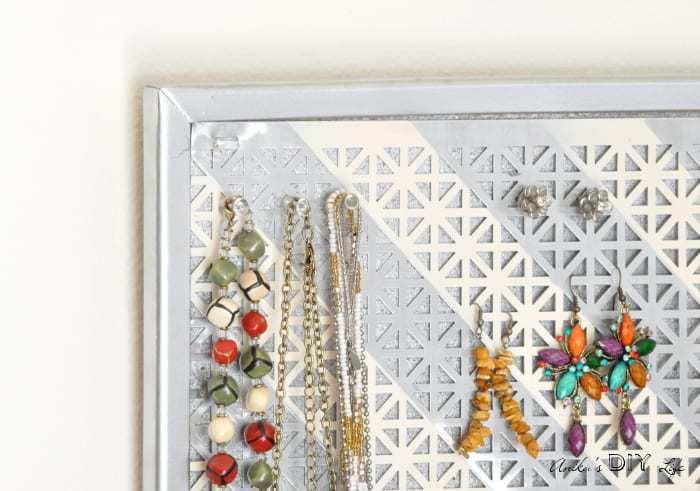 DIY Jewelry Organizer it doubles as wall decor Anikas DIY Life