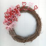 Easy DIY Valentine's Wreath – under $5