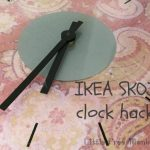 A quick Ikea SKOJ wall clock hack