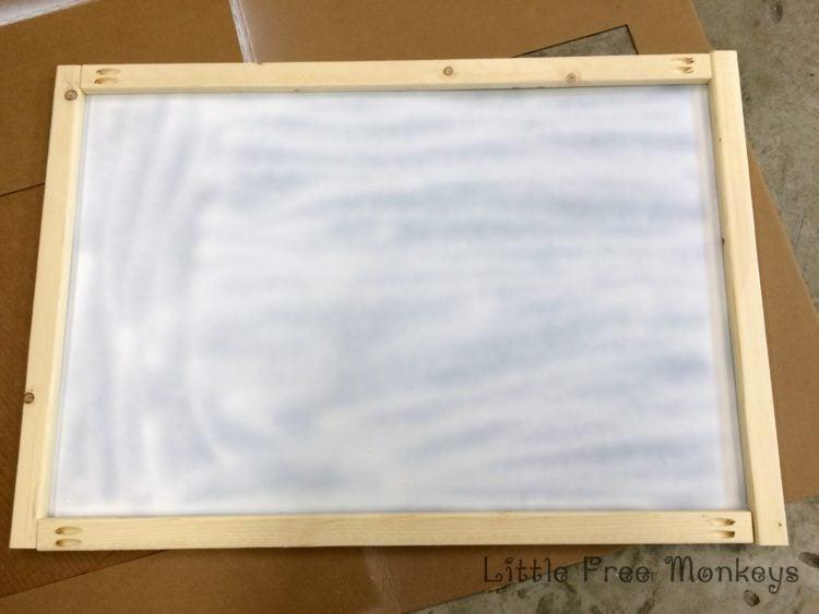 Easy DIY Magnetic Chalkboard under $12 - Anika\'s DIY Life