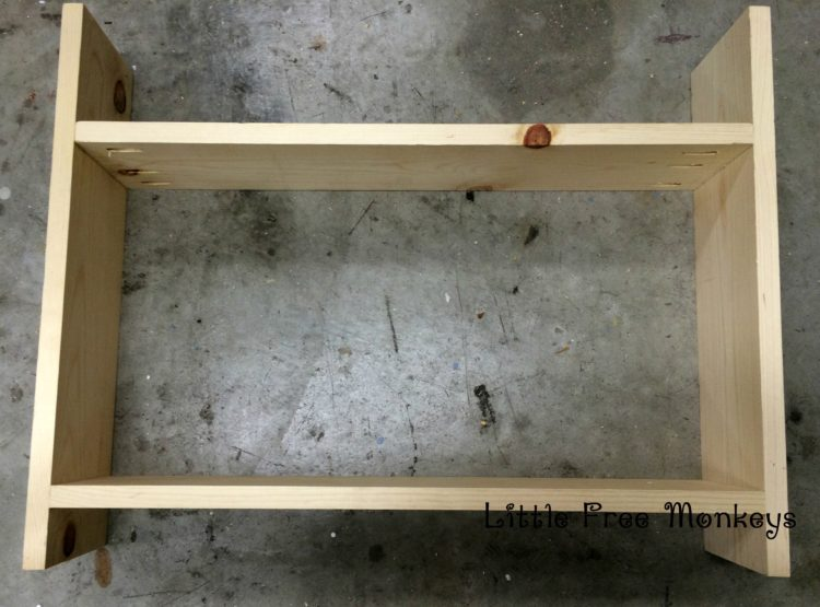 shelves attached