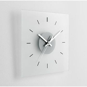 Ikea Skoj wall clock before - check out how I transformed it!