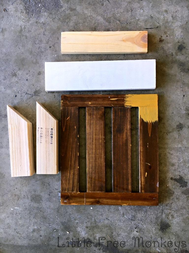 Desk organizer materials