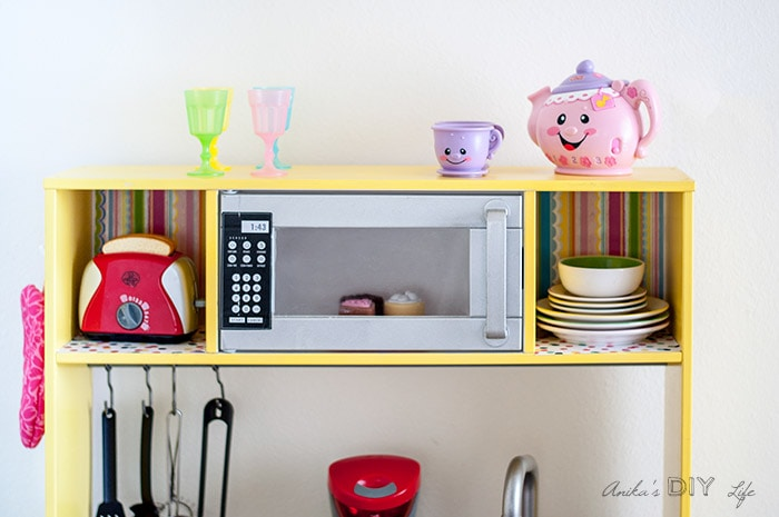 Bright And Fun Ikea Play Kitchen Hack!