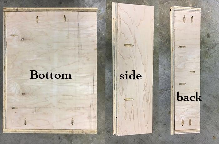 Build an X-leg accent table using Kreg jig and pocket holes