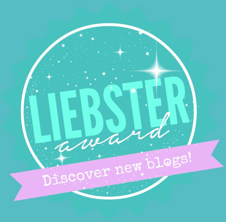 Liebster Award!!!