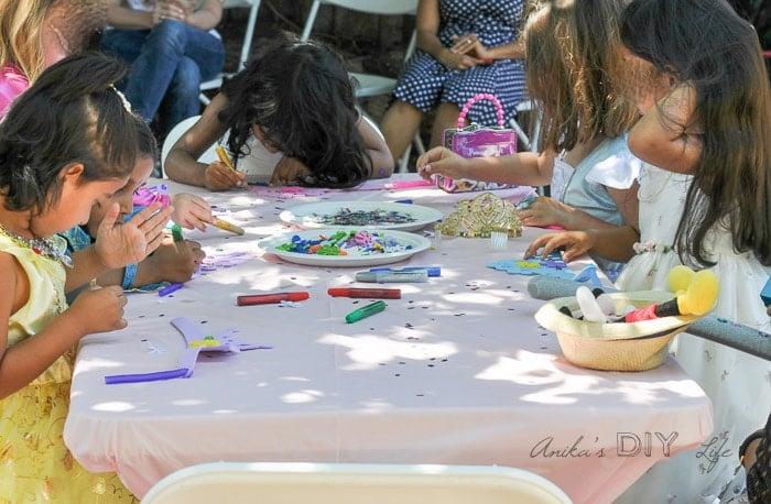 Princess birthday party activities