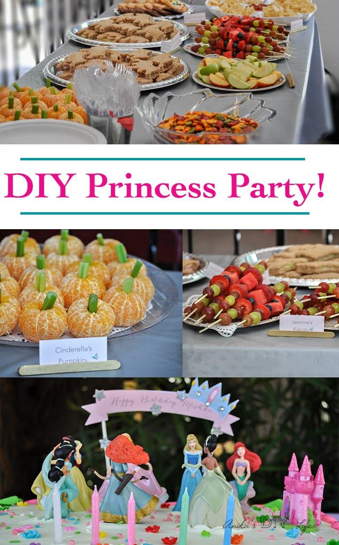 DIY Princess Birthday Party Ideas