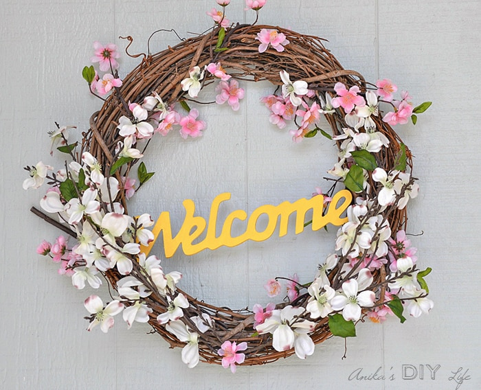 Image result for spring wreath diy