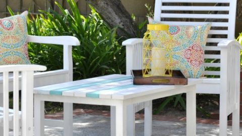 Awe Inspiring How To Paint Outdoor Wood Furniture And Make It Last For Pdpeps Interior Chair Design Pdpepsorg