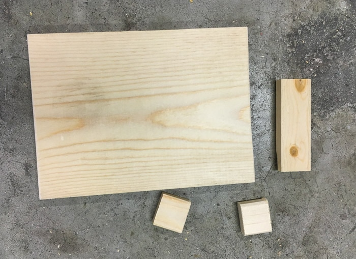 Easy scrap wood project idea   phone and photo stand