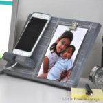 DIY Phone Holder and Photo Display