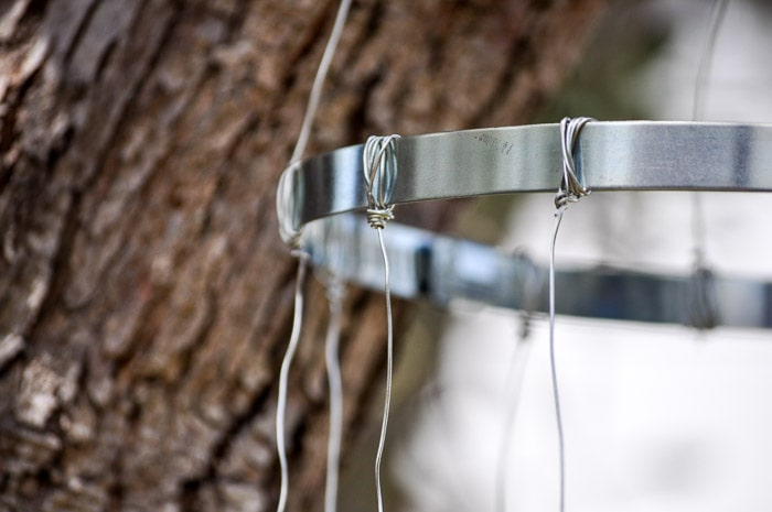 How to make a wind chime with recycled glass bottles