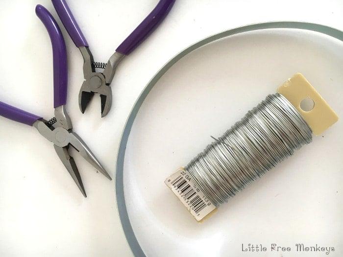 DIY Wind chimes - Materials - Little Free Monkeys