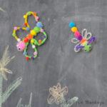 Fun Pom Pom Magnet creatures – Kids Craft