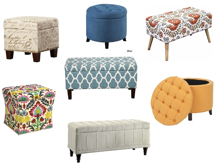 Affordable Storage Ottomans In All Shapes And Sizes To Match Every Style. A  Shopping Guide To Help You Find The Perfect Inexpensive Storage Ottoman On  A ...