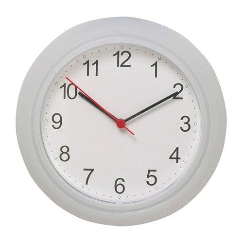 Ikea rusch clock