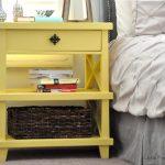 DIY Clara Lattice bedside table tutorial