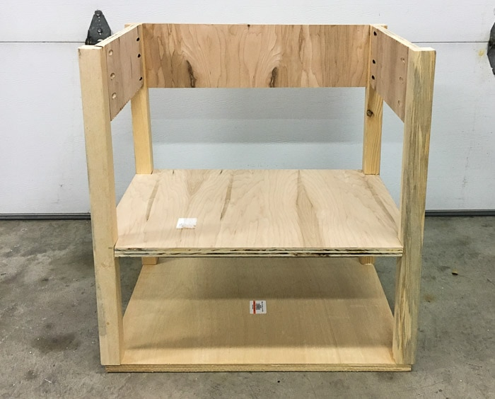 Building a Pottery Barn inspired nightstand