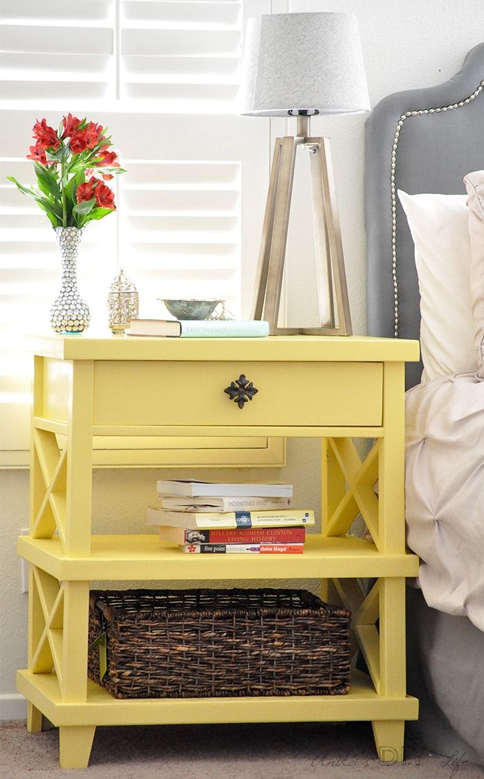 diy pottery barn inspired nightstand - free plans - anika's diy life How to Build a Nightstand with Drawers