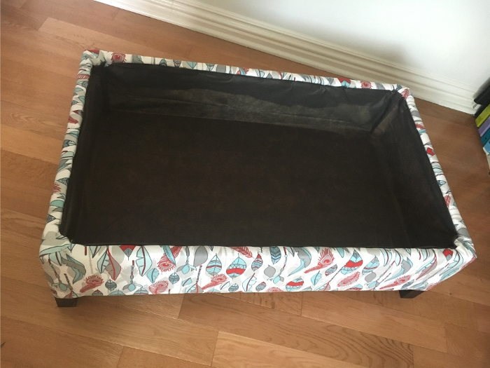 Make Your Own DIY Upholstered Storage Ottoman Starting With Lumber From The  Store   It Is