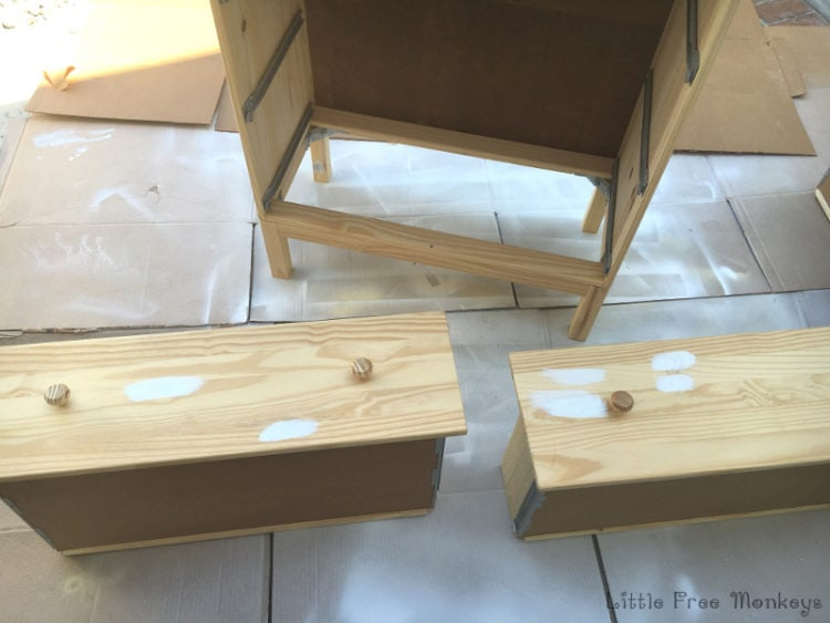 How To Paint Unfinished Ikea Furniture. This Ikea Tarva Makeover Covers  Everything!