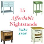 15 Affordable Nightstands under $150