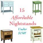 15 Affordable Nightstands under $150