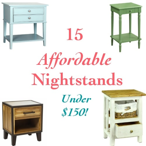 Affordable nightstands