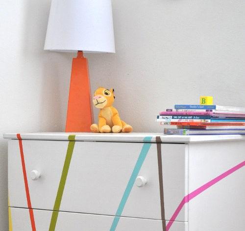 A Colorful Ikea Tarva Dresser Makeover