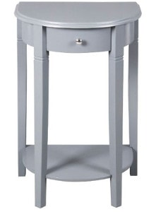 Half Moon Nightstand - Check out all the other options for affordable nightstands under $150!