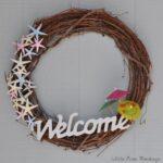 DIY Coastal wreath under $10
