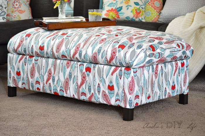 Charmant Make Your Own DIY Upholstered Storage Ottoman Starting With Lumber From The  Store   It Is