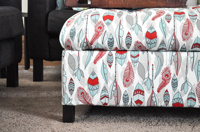 Attirant Make Your Own DIY Upholstered Storage Ottoman Starting With Lumber From The  Store   It Is
