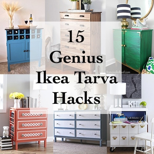 The Best DIY Ikea Tarva Dresser Hacks!