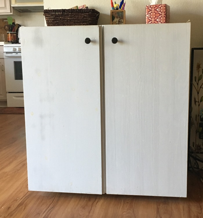 You will not believe how this Ikea Ivar cabinet transformed into a beautiful sideboard!
