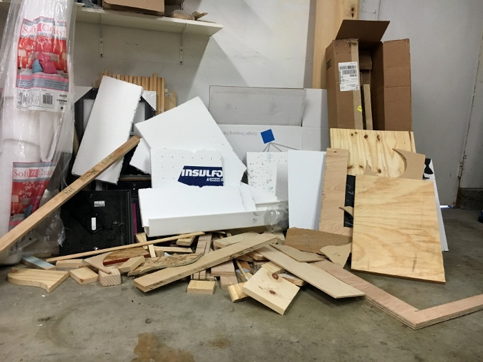 Why I needed a scrap wood organizer! Come see how I made one using scrap wood!