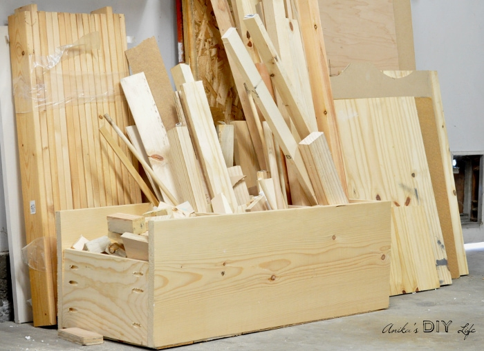 Make this scrap wood organizer using scrap wood! step by step tutorial