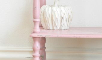 How to Paint Furniture Faster using Chalk Mix