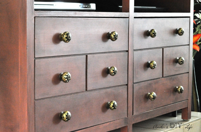 Superior Look At This Beautiful DIY Apothecary Media Cabinet! Those Faux Drawers Are  So Pretty And