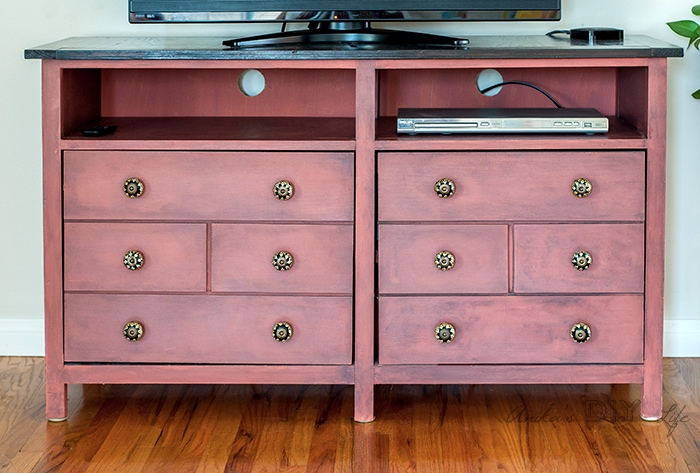 ... How To Build A Media Cabinet   DIY Fauz Apothecary Drawers #woodworking