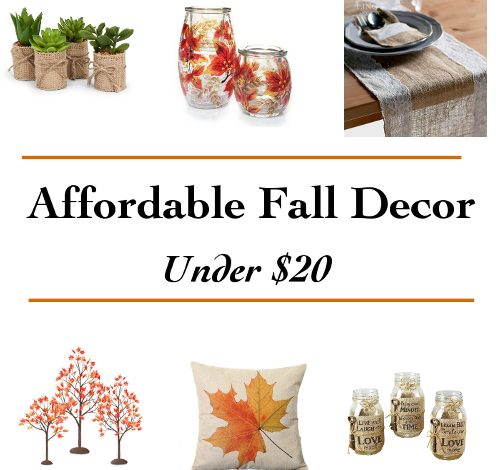 20 Affordable Fall Decor ideas under $20