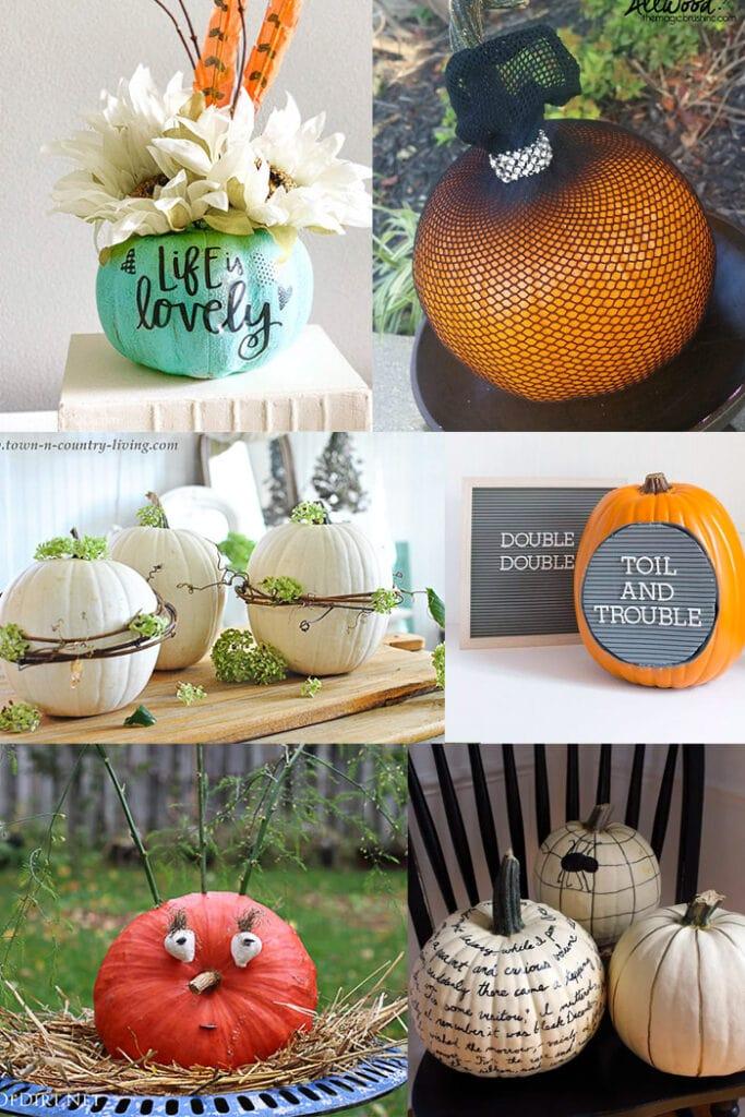 33 Amazing No Carve Pumpkin Decorating Ideas For Fall You
