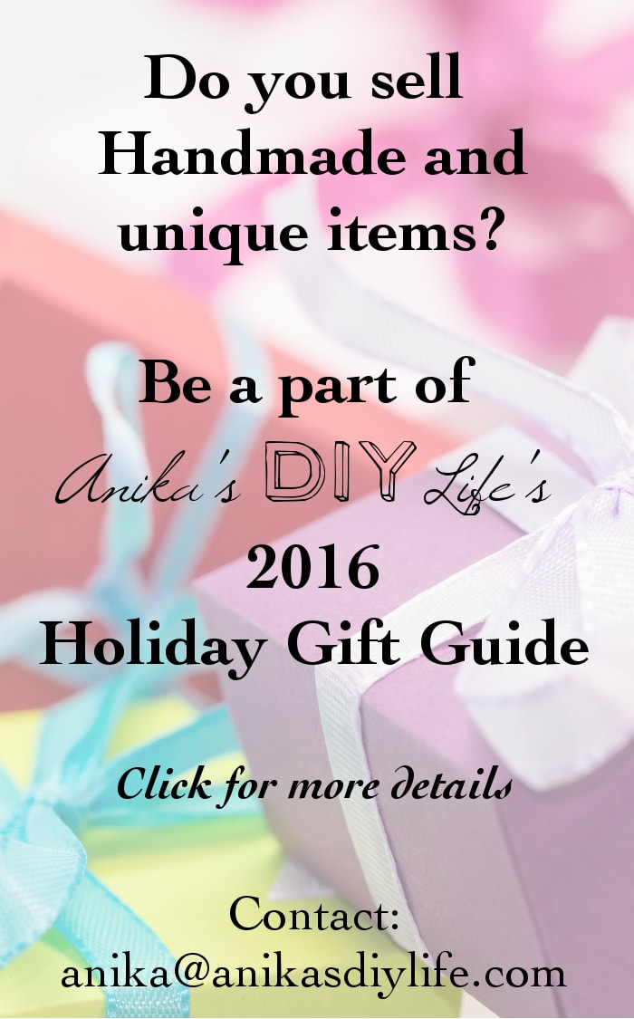 Small business advertising opportunity for holiday gift items