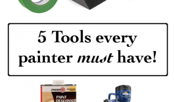 5 Must Have DIY Painting Tools