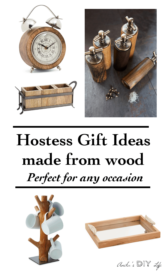 Unique hostess gift ideas made from wood anikas diy life perfect gift for the home negle Choice Image