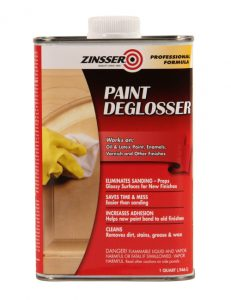 Must have painting tools and supplies - Deglosser